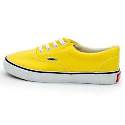 Кеды Vans Classic lace желтые.