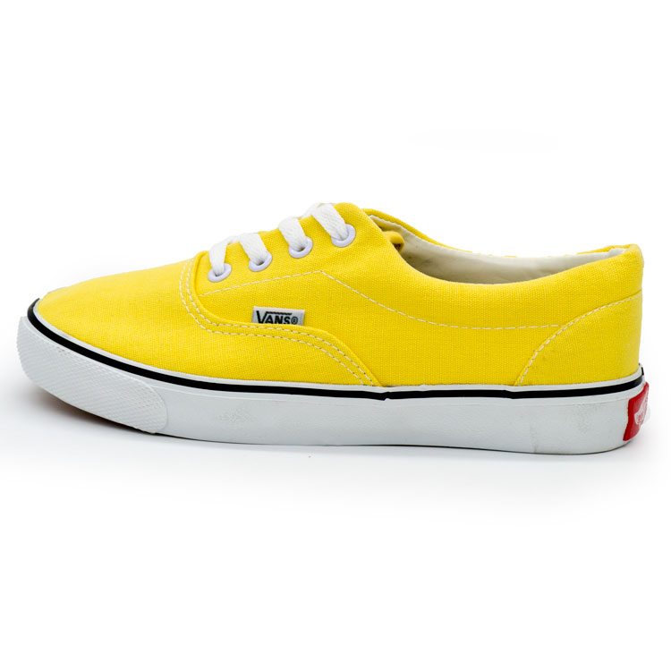 фото main Кеды Vans Classic lace желтые. main