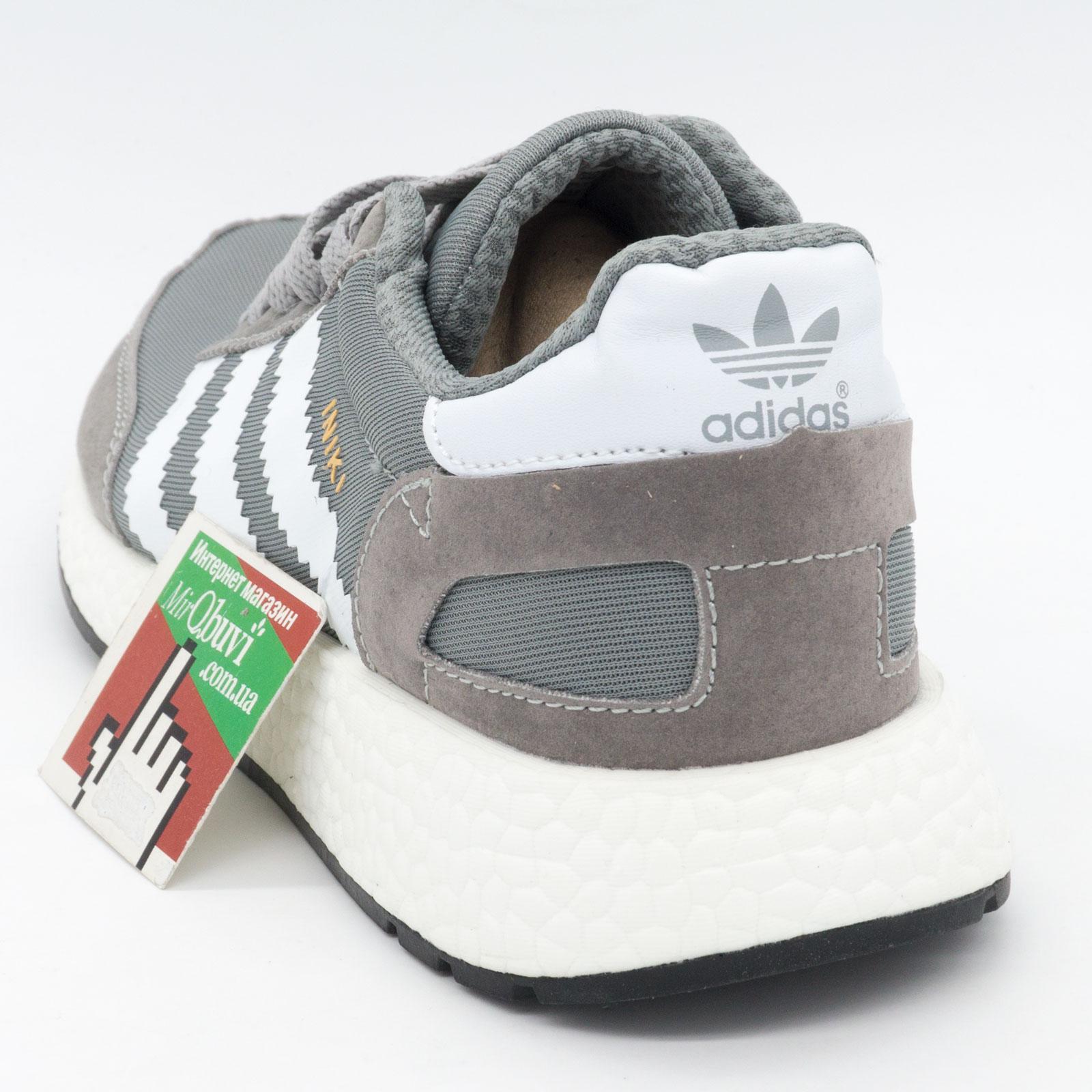 фото back Кроссовки для бега Adidas Iniki Runner светло серые back