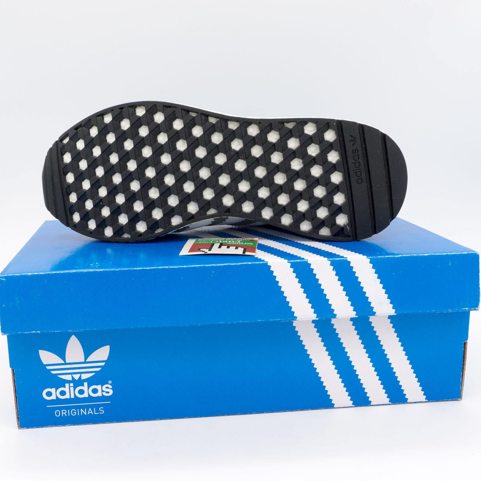 фото bottom Кроссовки для бега Adidas Iniki Runner светло серые bottom