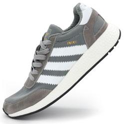Кроссовки для бега Adidas Iniki Runner светло серые