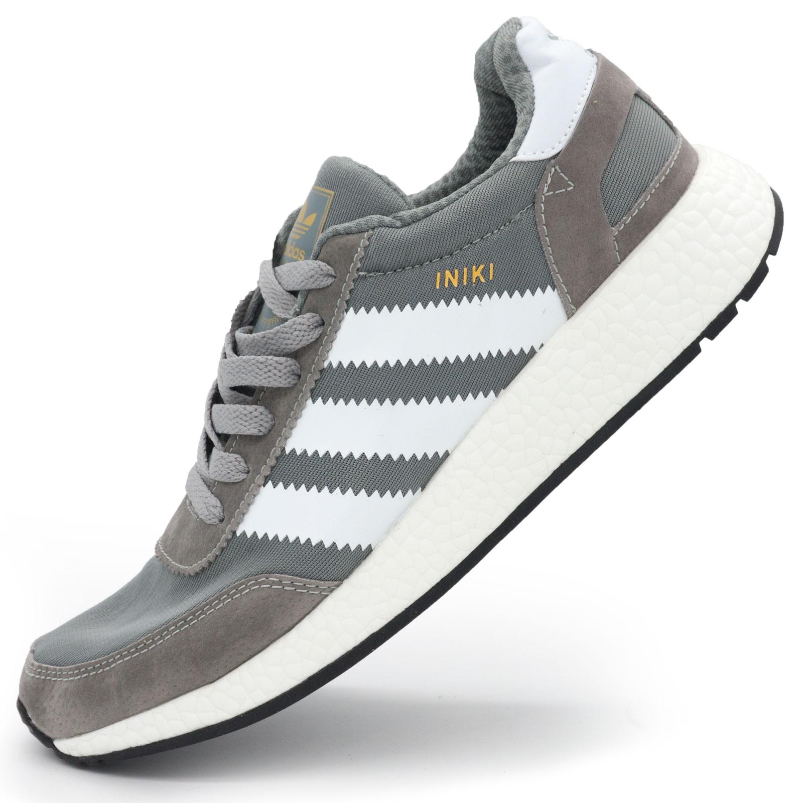 фото main Кроссовки для бега Adidas Iniki Runner светло серые main