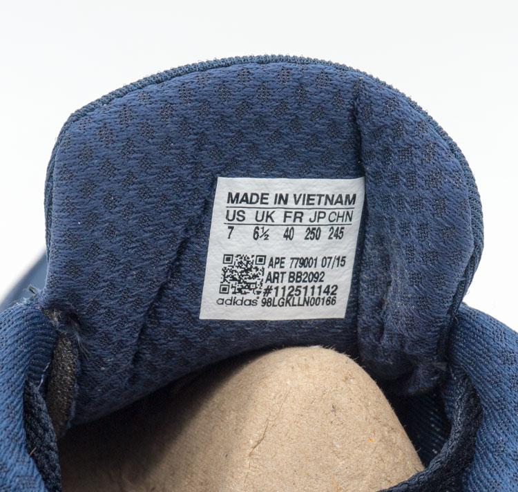 большое фото №6 Кроссовки для бега Adidas Iniki Runner синие с белым №2