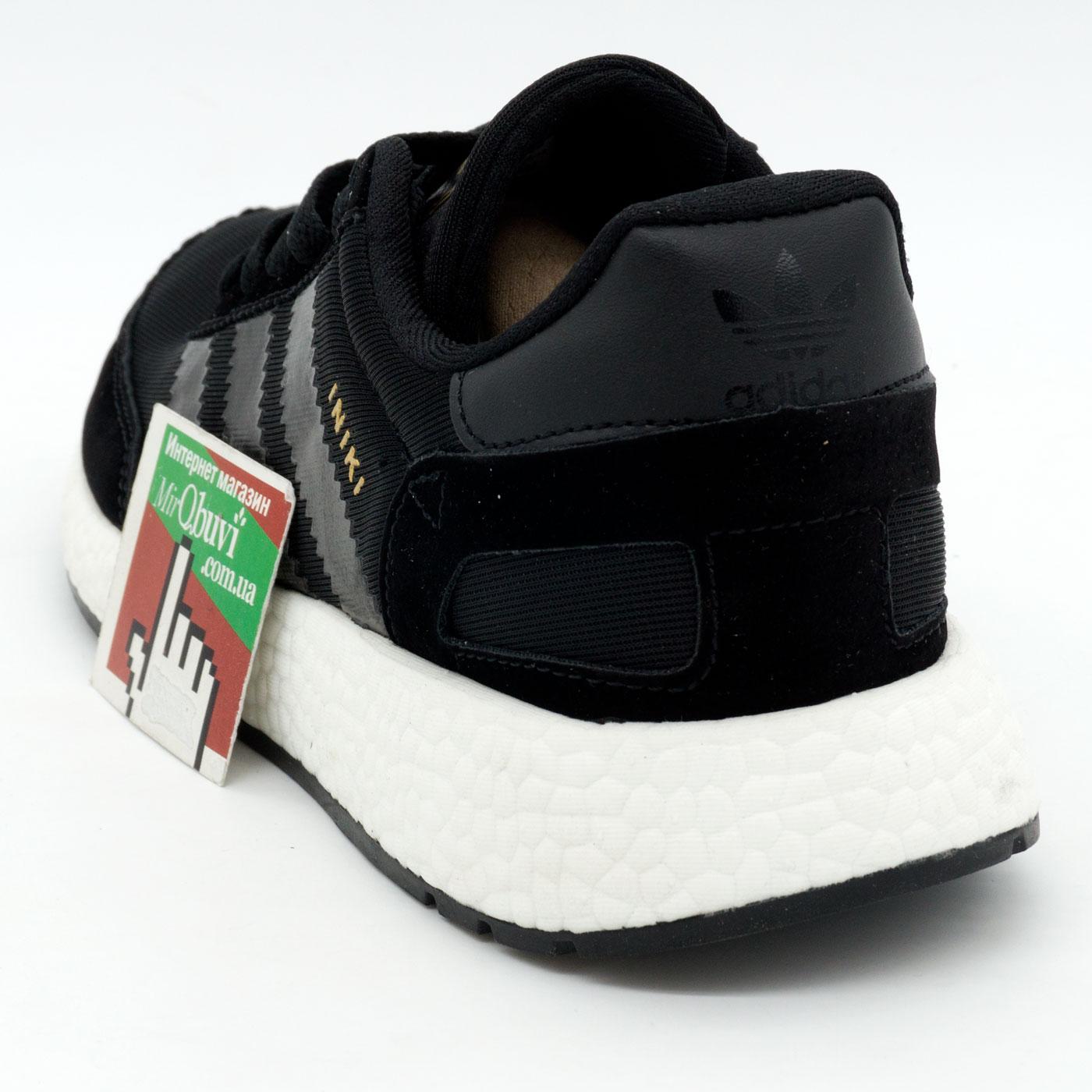 фото back Кроссовки для бега Adidas Iniki Runner черные №2 back