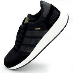 Кроссовки для бега Adidas Iniki Runner черные №2