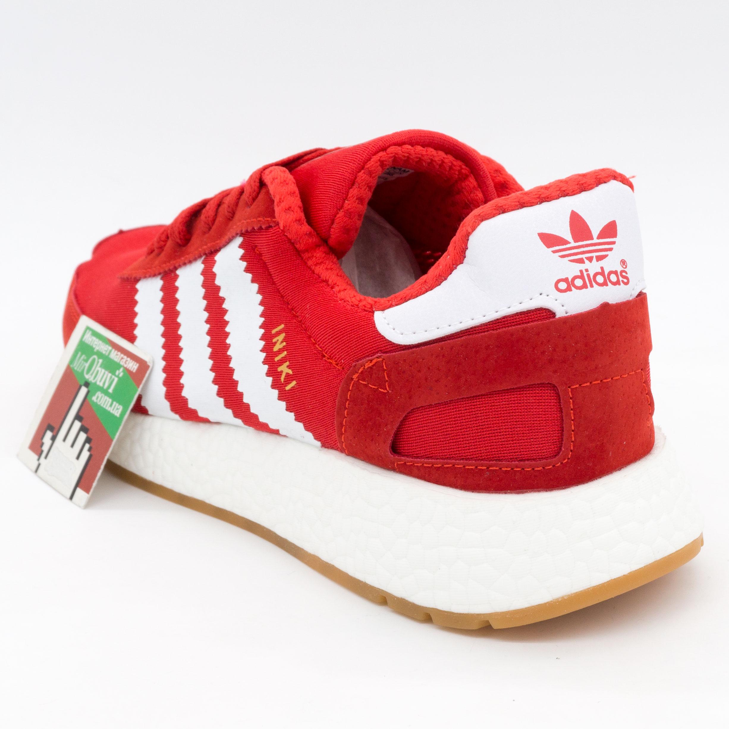 фото back Кроссовки для бега Adidas Iniki Runner красные back