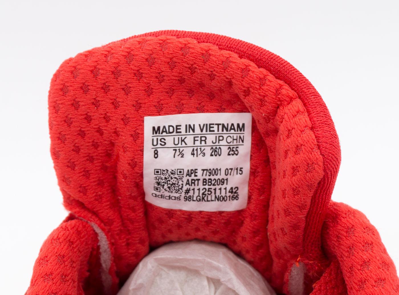 большое фото №6 Кроссовки для бега Adidas Iniki Runner красные