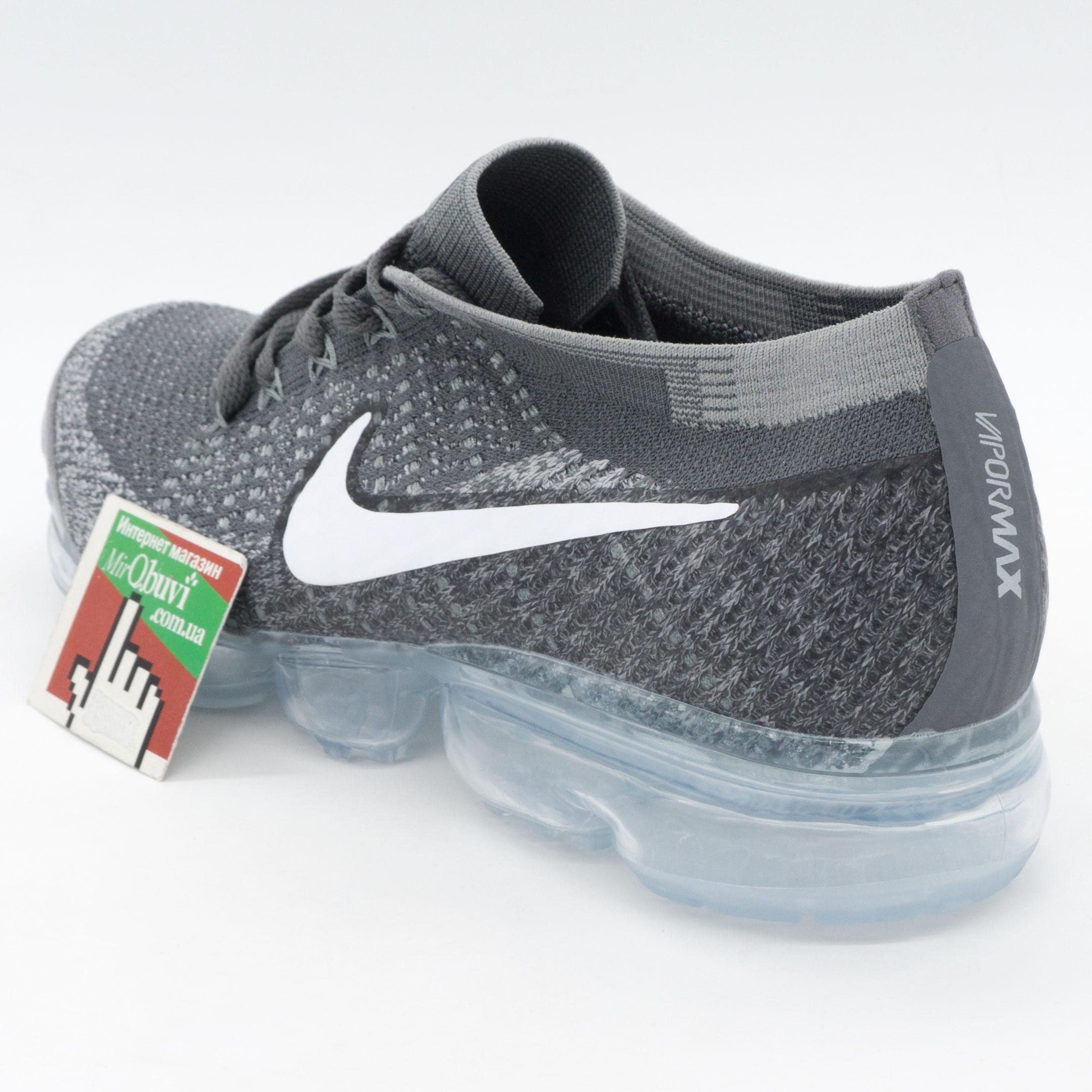 фото back Кроссовки для бега Nike Air VaporMax темно серые. Топ качество! back