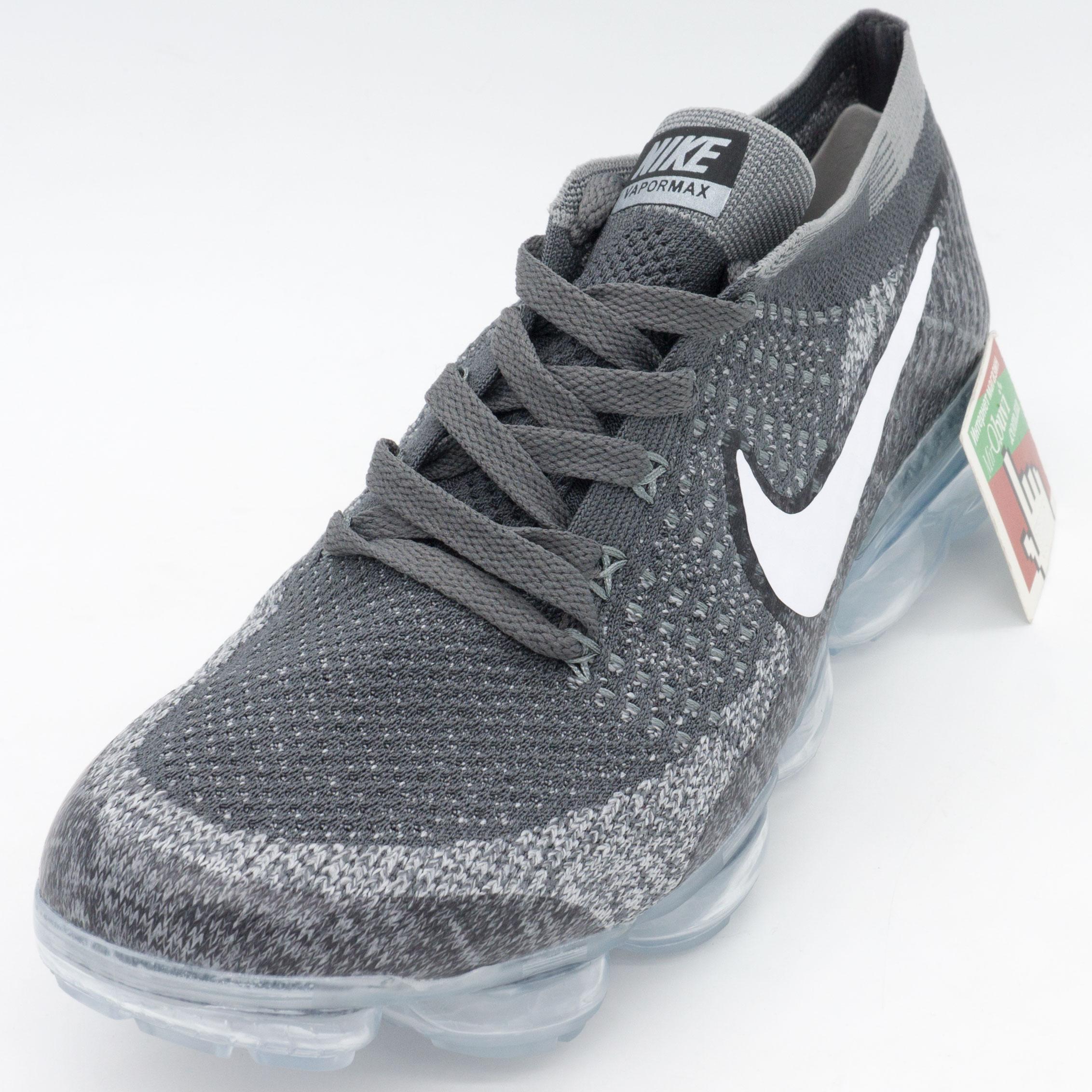фото front Кроссовки для бега Nike Air VaporMax темно серые. Топ качество! front