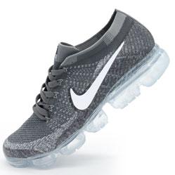 Кроссовки для бега Nike Air VaporMax темно серые. Топ качество!