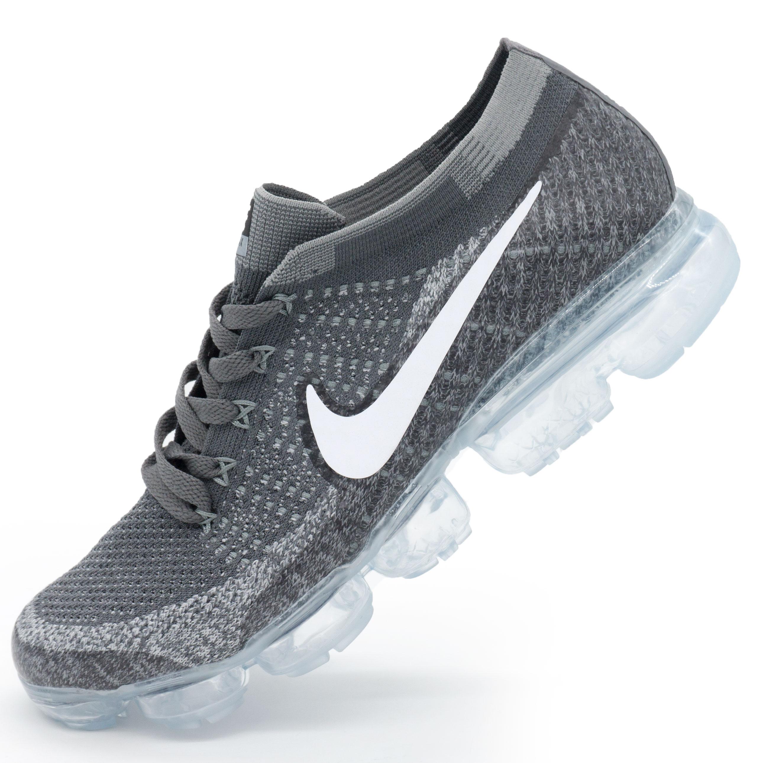 фото main Кроссовки для бега Nike Air VaporMax темно серые. Топ качество! main