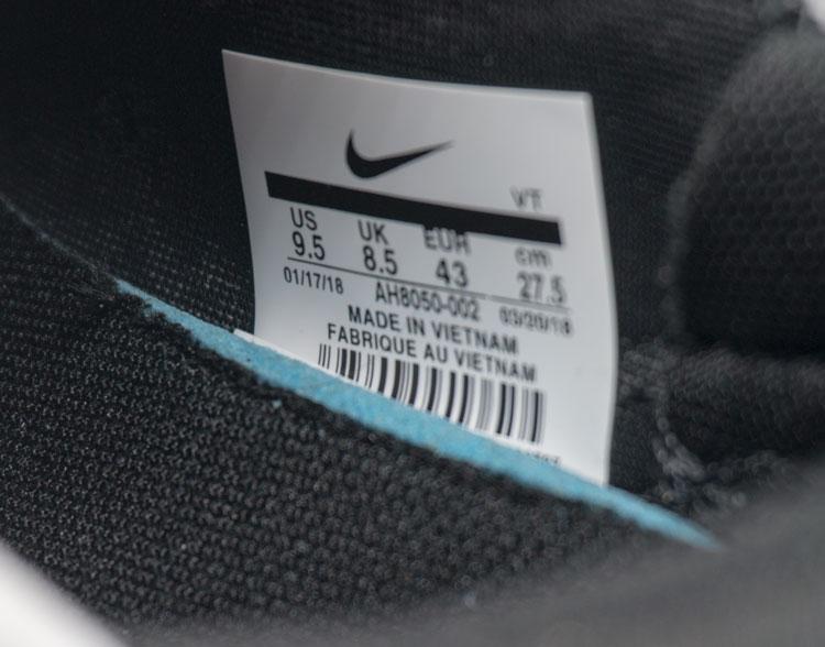 большое фото №6 Кроссовки Nike Air Max 270 Flyknit белые, бирюзовый значек. Топ качество!
