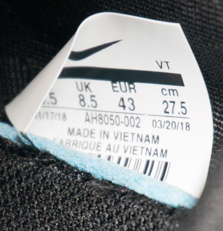 большое фото №6 Кроссовки Nike Air Max 270 Flyknit черные с синим. Топ качество!