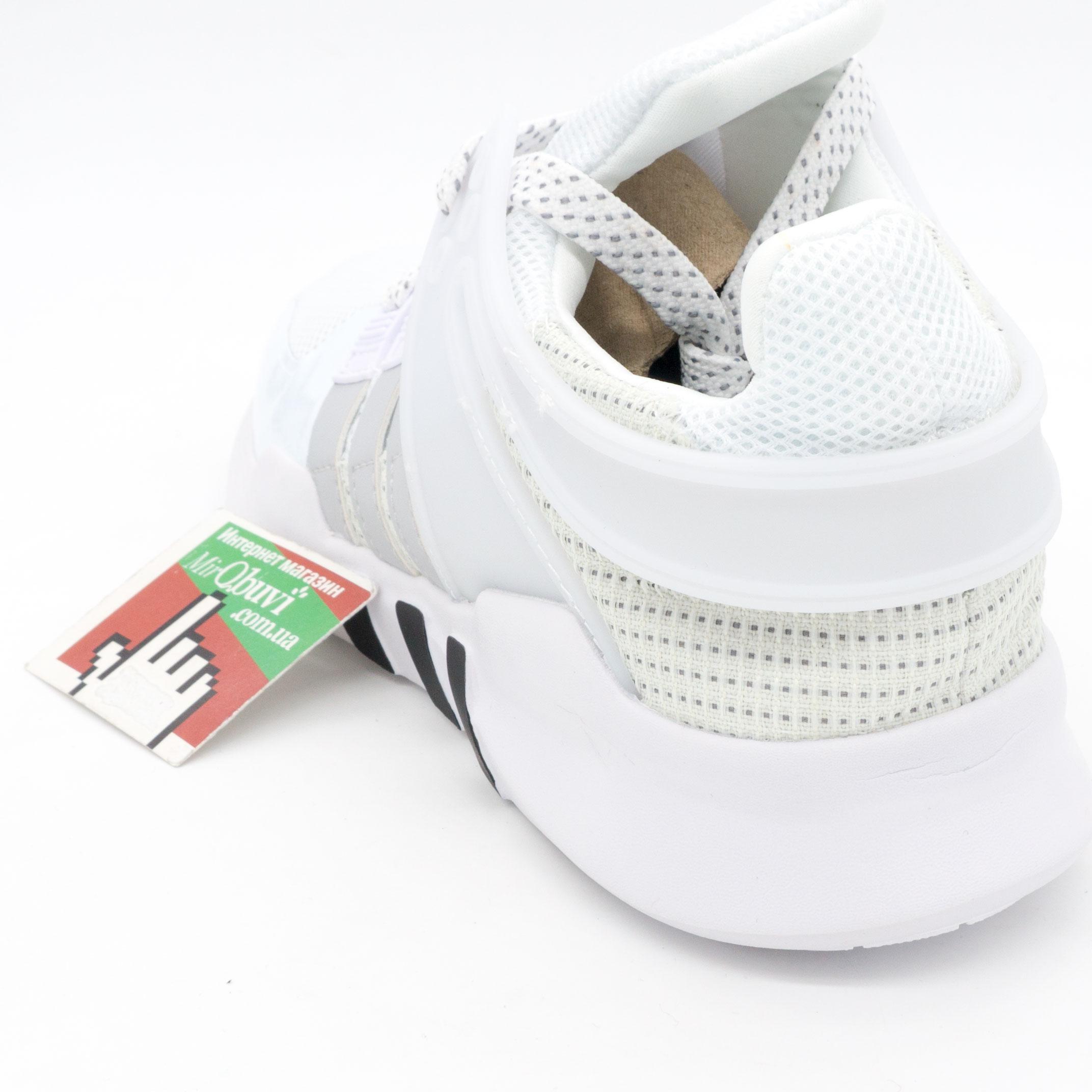фото back Кроссовки Adidas Equipment Support (EQT) белые с серым. Топ качество! back