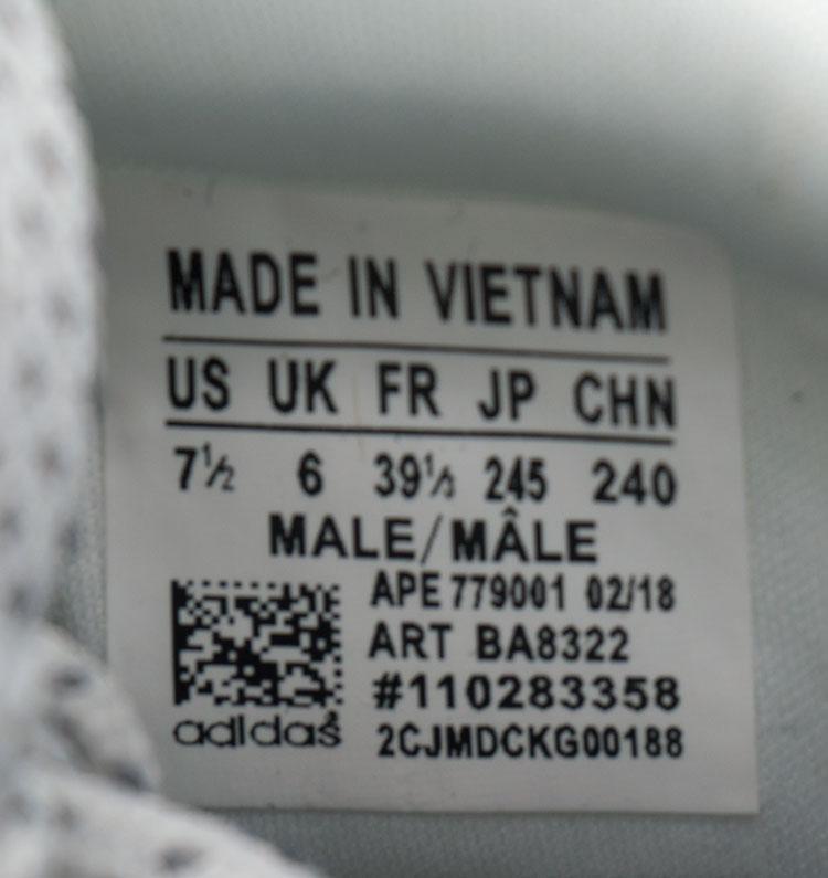 большое фото №6 Кроссовки Adidas Equipment Support (EQT) белые с серым. Топ качество!