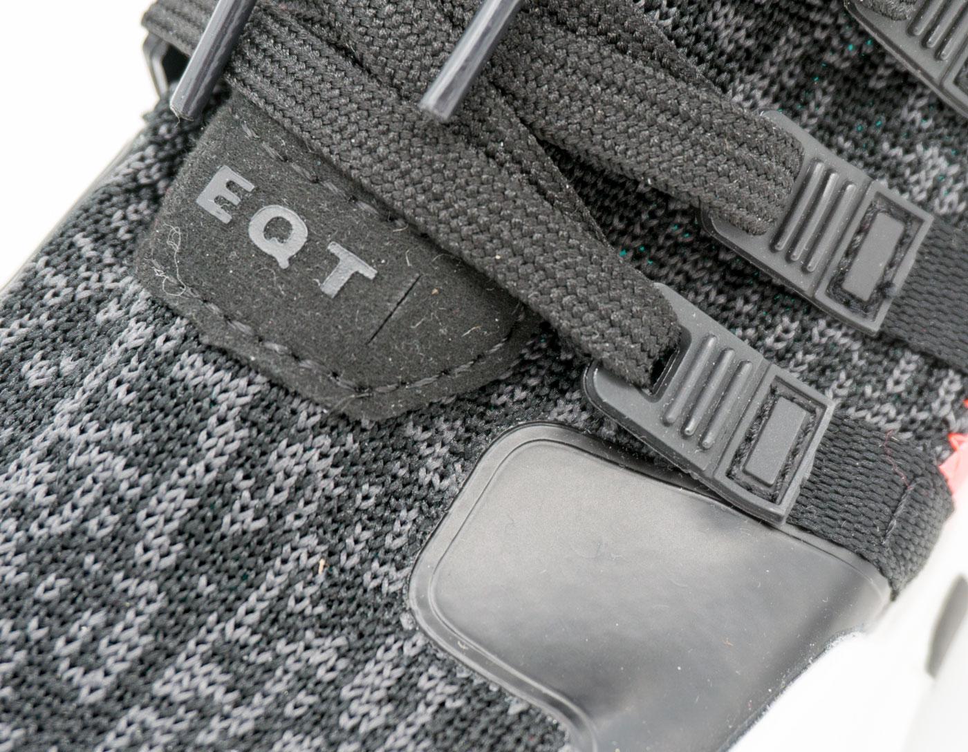 большое фото №5 Кроссовки Adidas Equipment Support (EQT) черные с розовым. Топ качество!