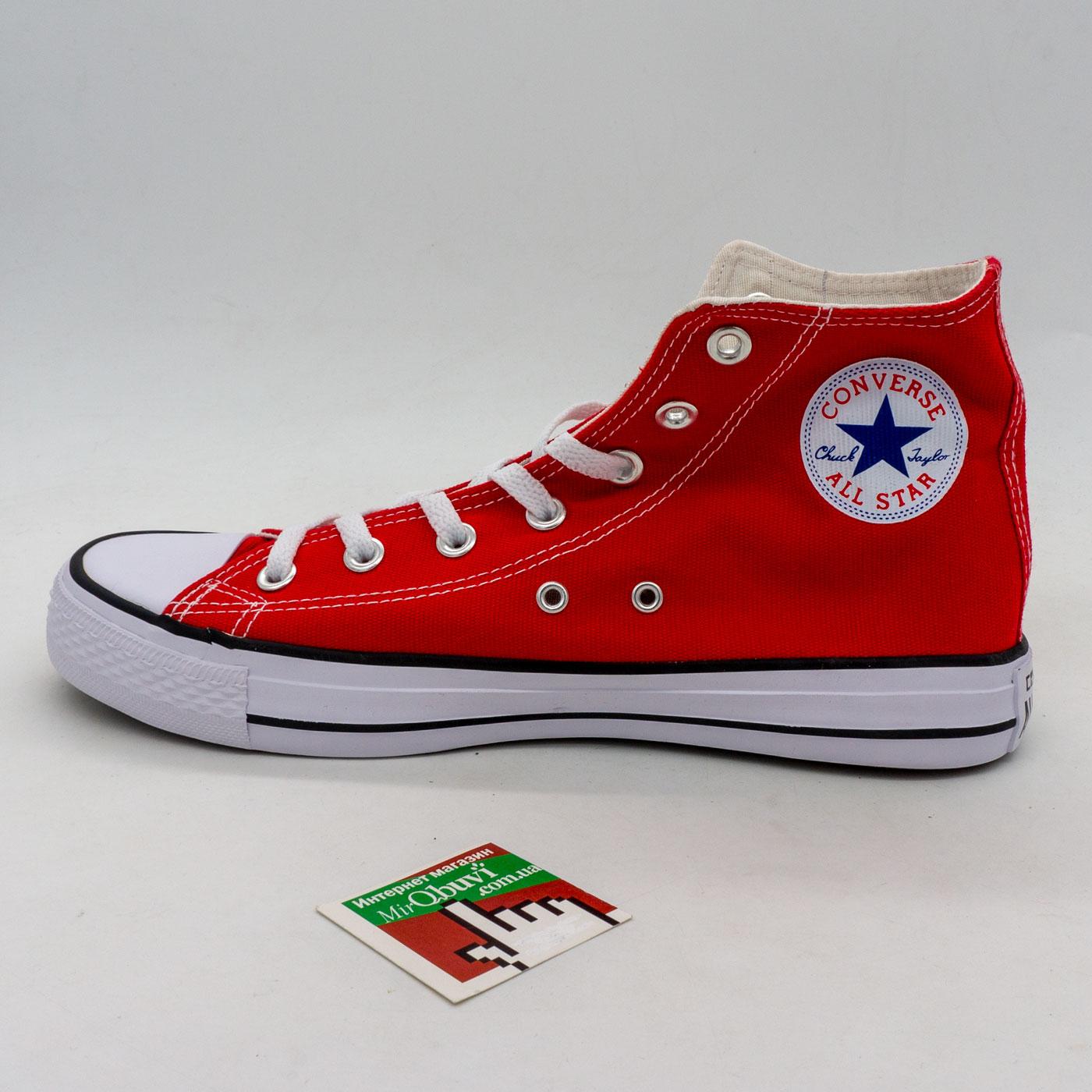 фото back Кеды Converse высокие красные - Топ качество! back