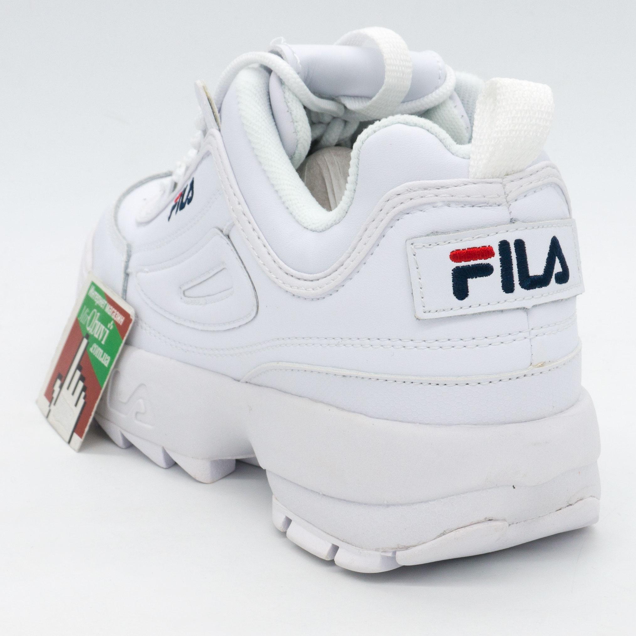 фото back Белые кроссовки FILA Disruptor 2. Топ качество! back