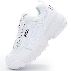 Белые кроссовки FILA Disruptor 2. Топ качество!
