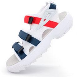 Женские бело синие сандали FILA Disruptor 2. Топ качество!