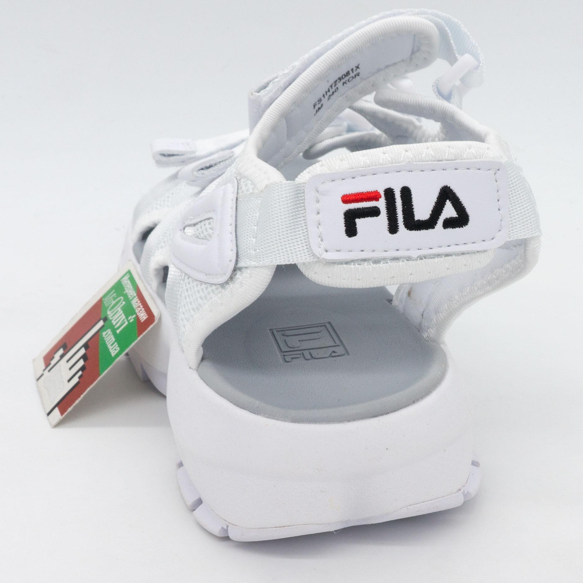 фото back Женские белые сандали FILA Disruptor 2. Топ качество! back