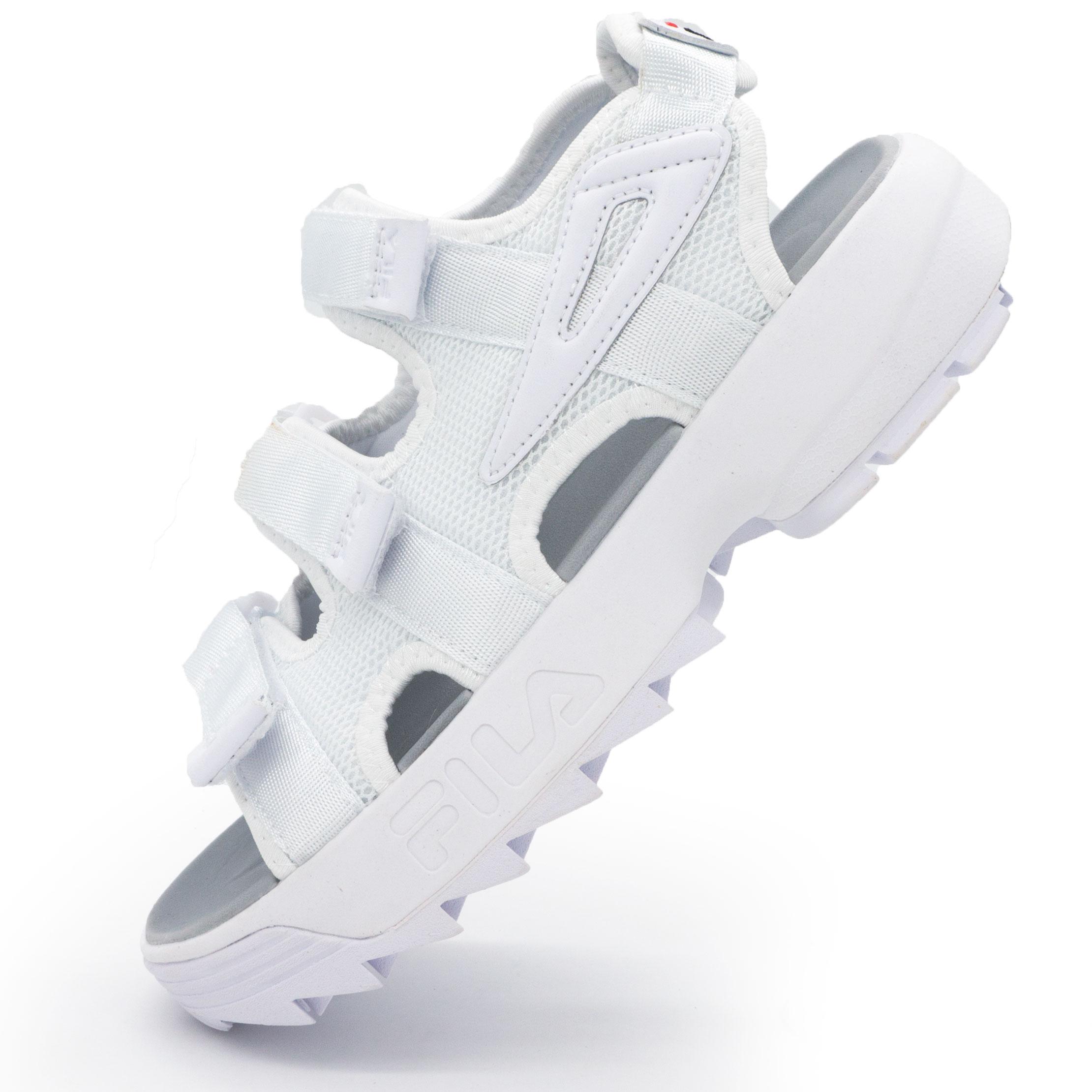 Женские белые сандали FILA Disruptor 2, купить кроссовки Фила ... f4033c99926