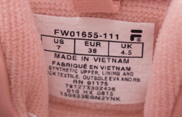 большое фото №6 Женские розовые кроссовки FILA Disruptor 2