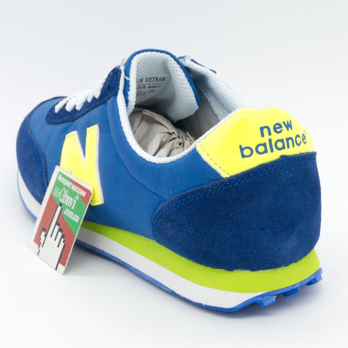 фото back Мужские кроссовки New Balance 410 синие back