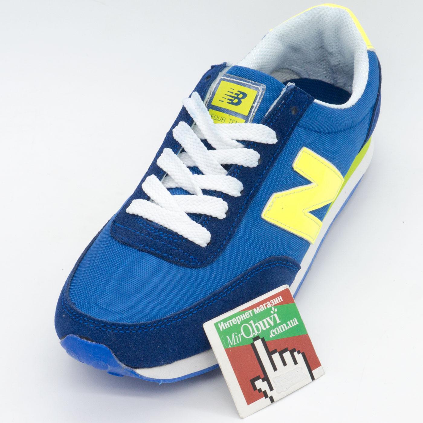 фото front Мужские кроссовки New Balance 410 синие front