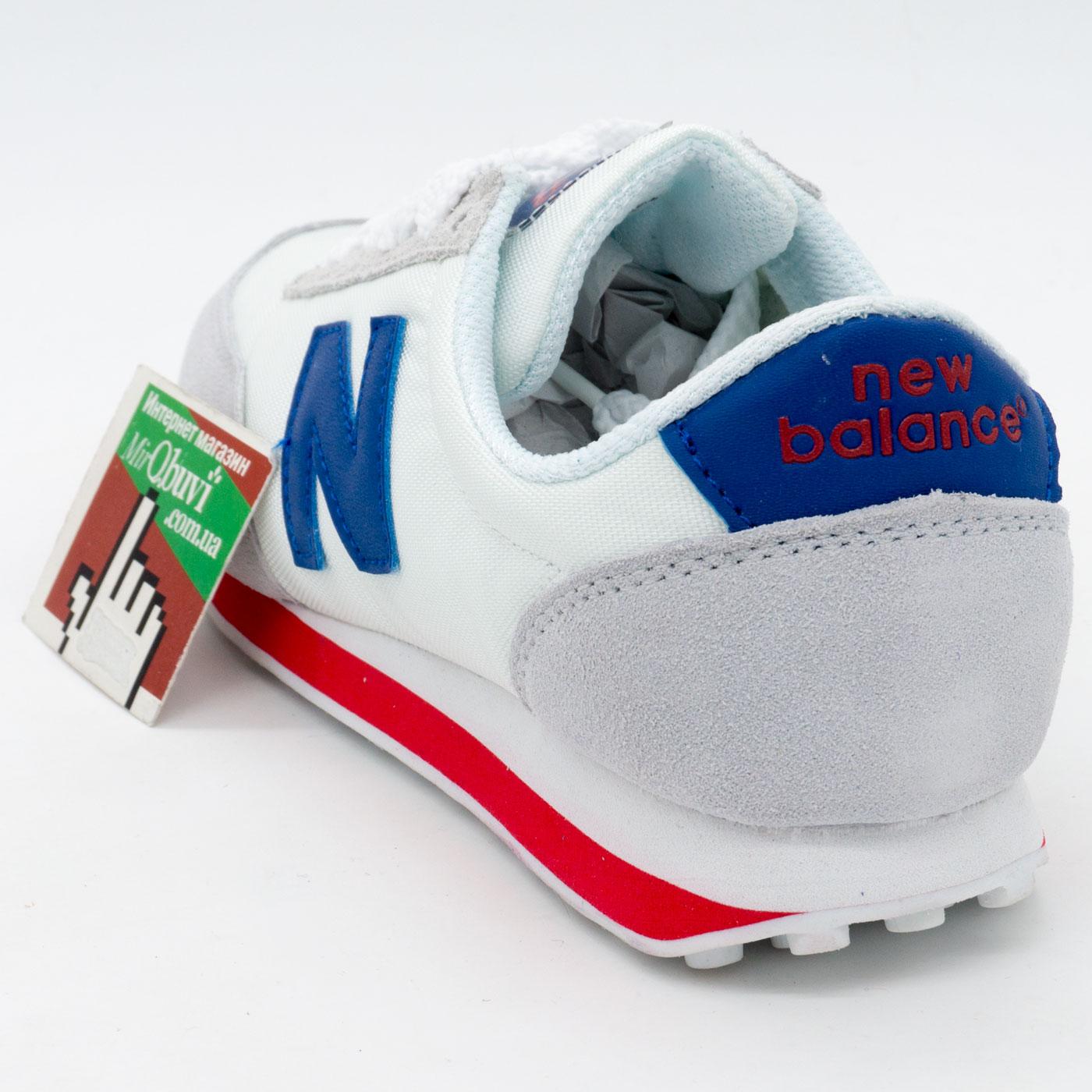 фото back Кроссовки New Balance 410 белые back