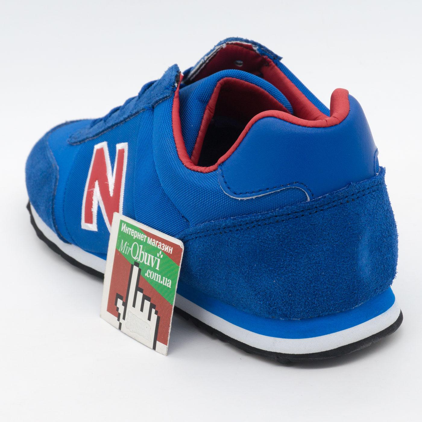 фото back Кроссовки New Balance 356 синие с красным back