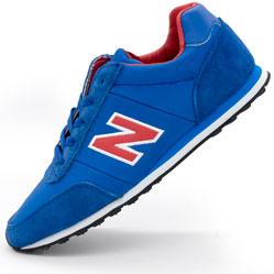 Кроссовки New Balance 356 синие с красным