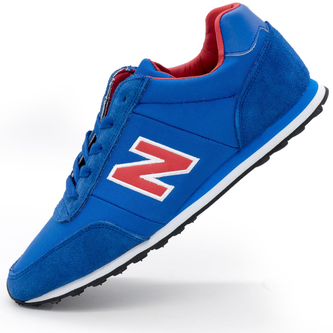 фото main Кроссовки New Balance 356 синие с красным main