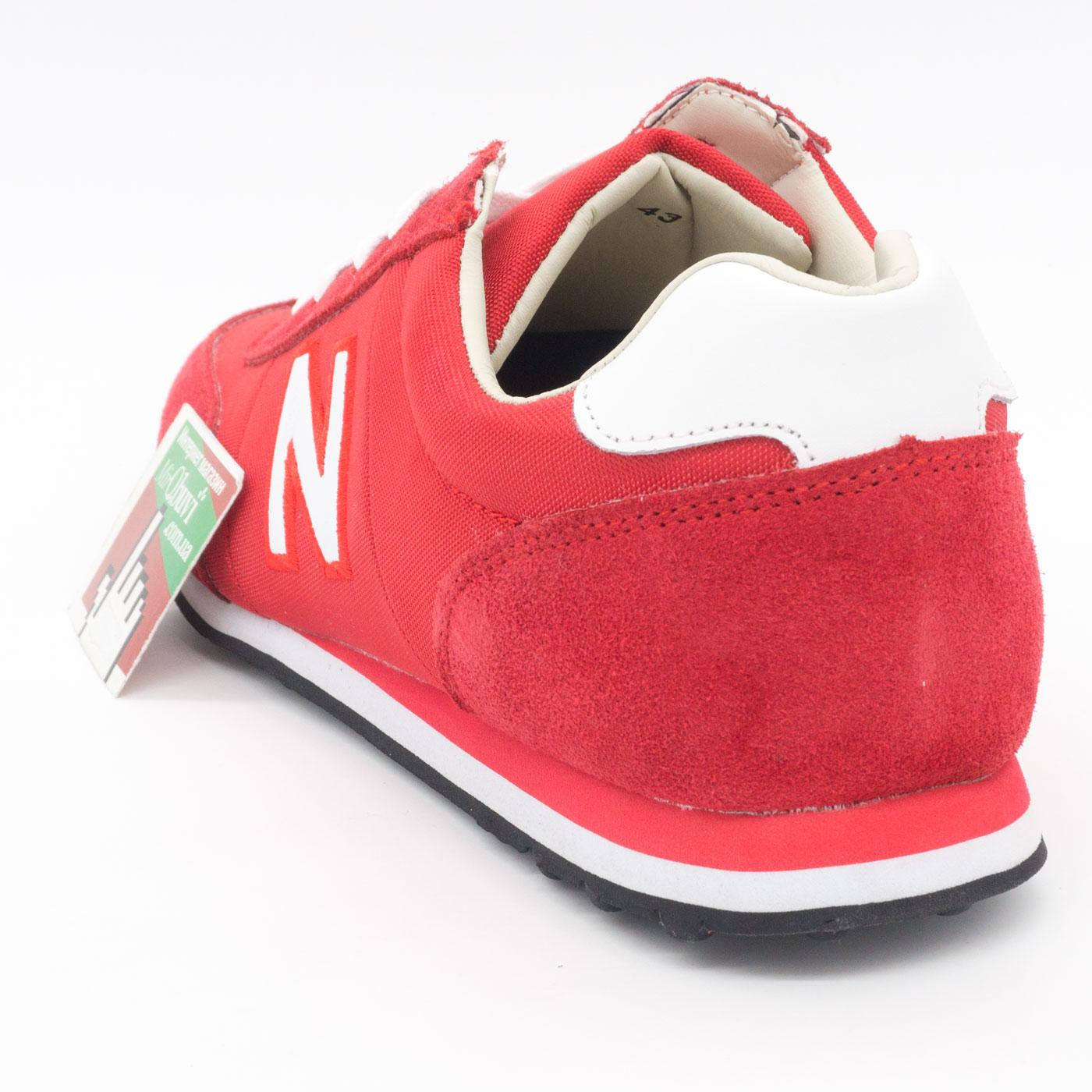 фото back Кроссовки New Balance 356 красные back