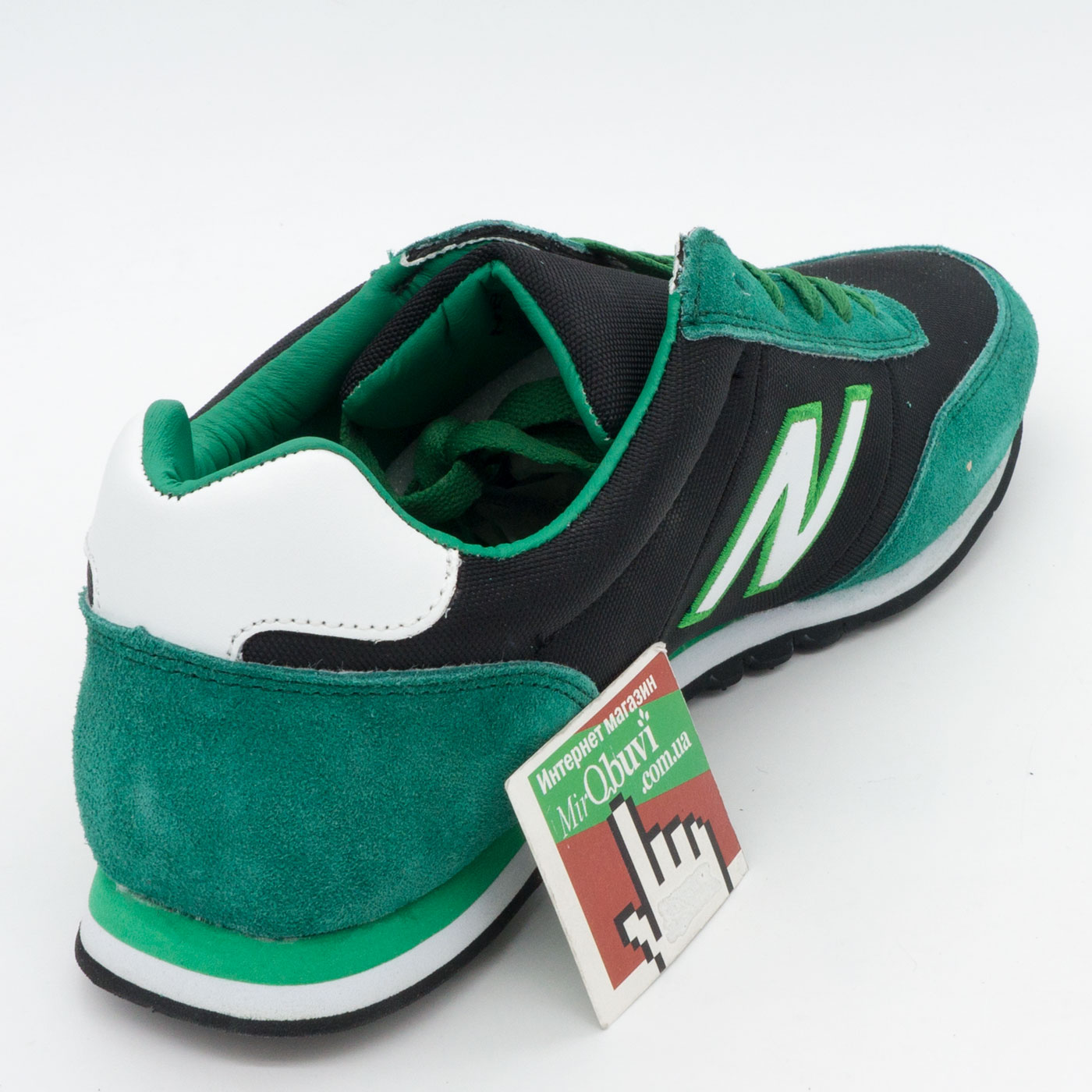 фото back Кроссовки New Balance 356 зеленые back