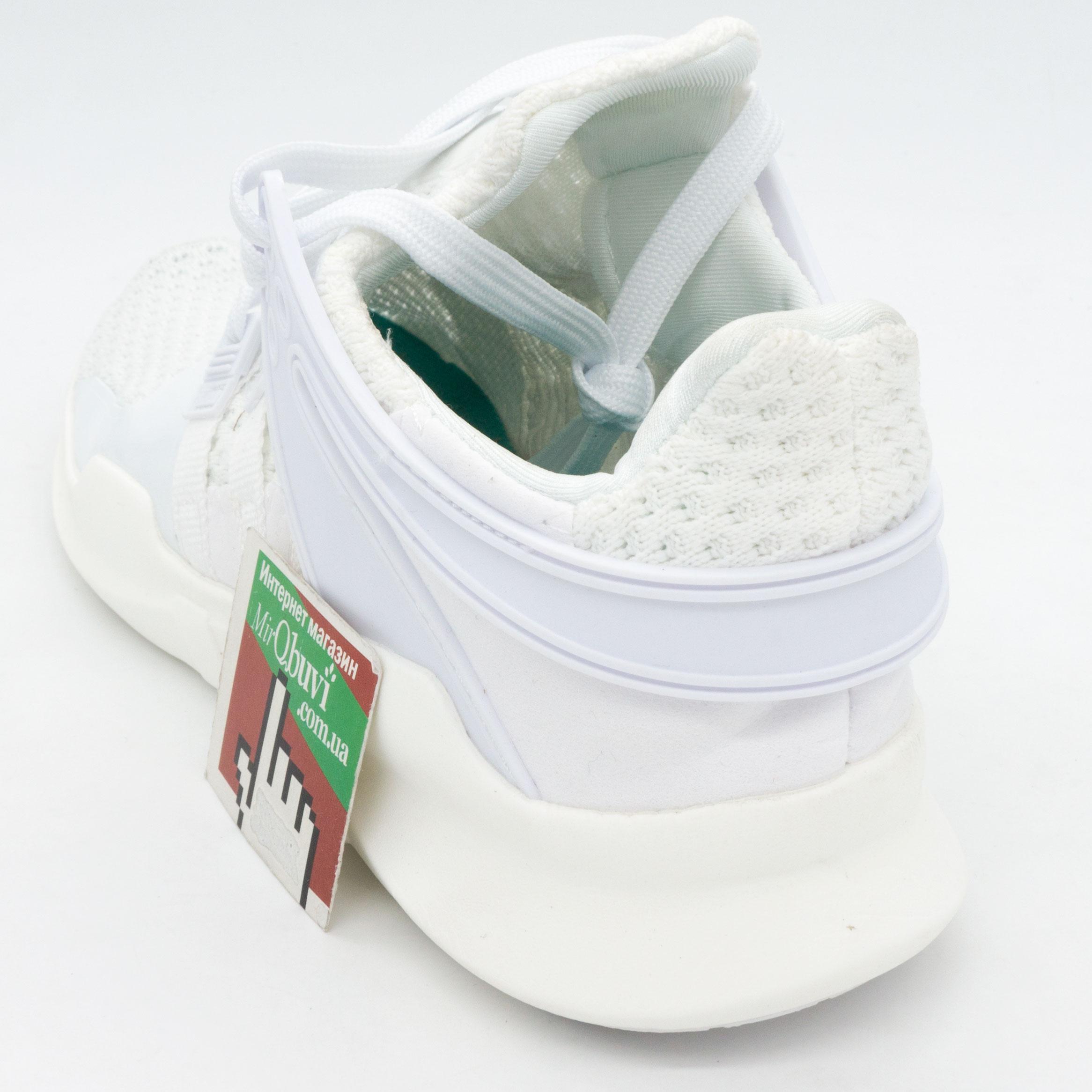 фото back Кроссовки Adidas Equipment support (EQT) полностью белые. Топ качество! back