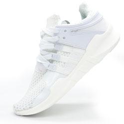 Кроссовки Adidas Equipment support (EQT) полностью белые. Топ качество!