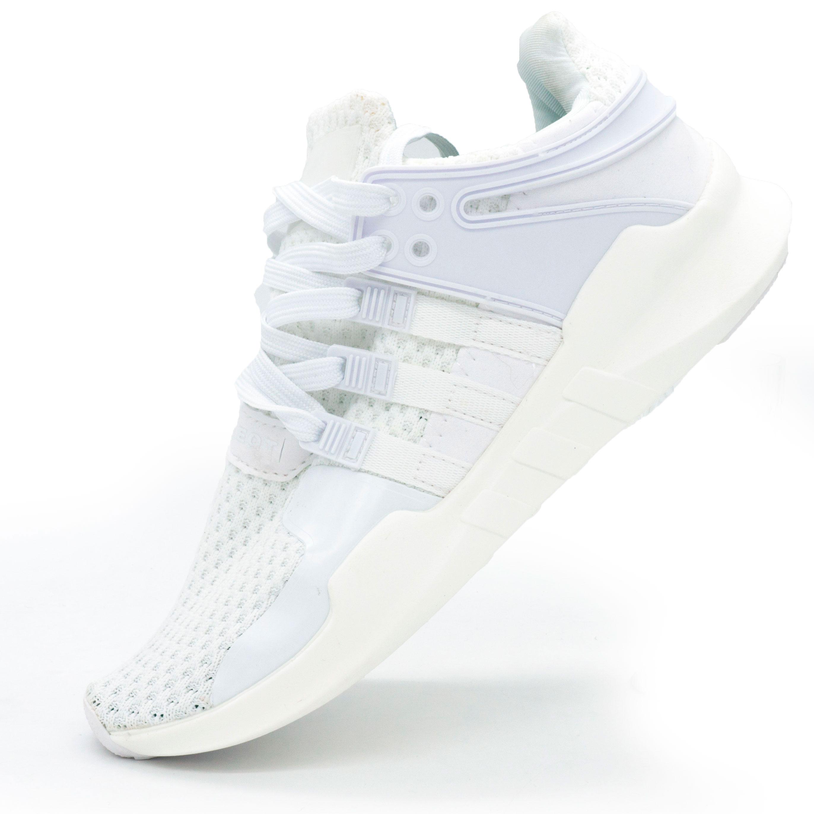 фото main Кроссовки Adidas Equipment support (EQT) полностью белые. Топ качество! main