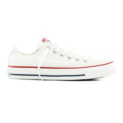 Converse низкие белые