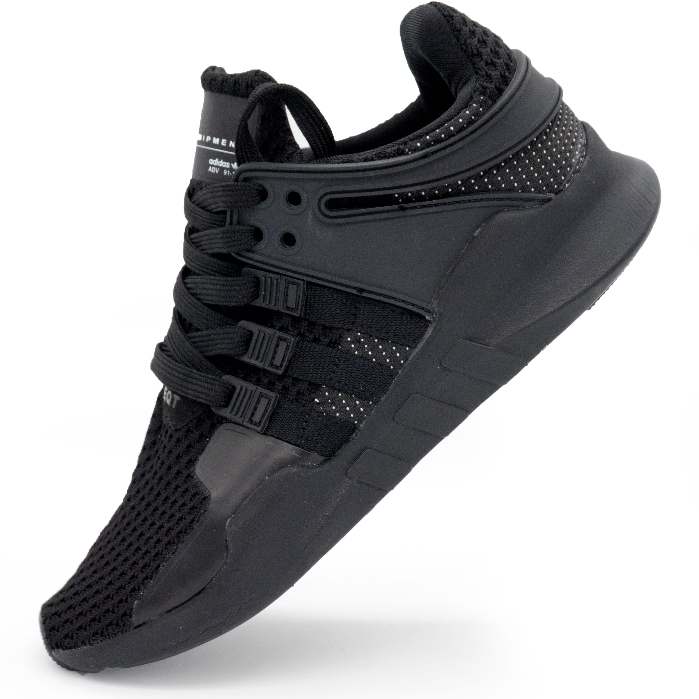 фото main Кроссовки Adidas Equipment support (EQT) полностью черные. Топ качество! main