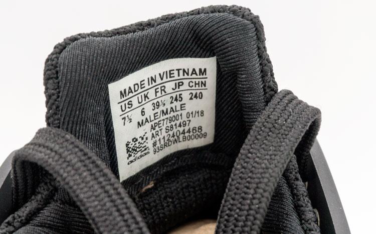 большое фото №6 Кроссовки Adidas Equipment support (EQT) полностью черные. Топ качество!