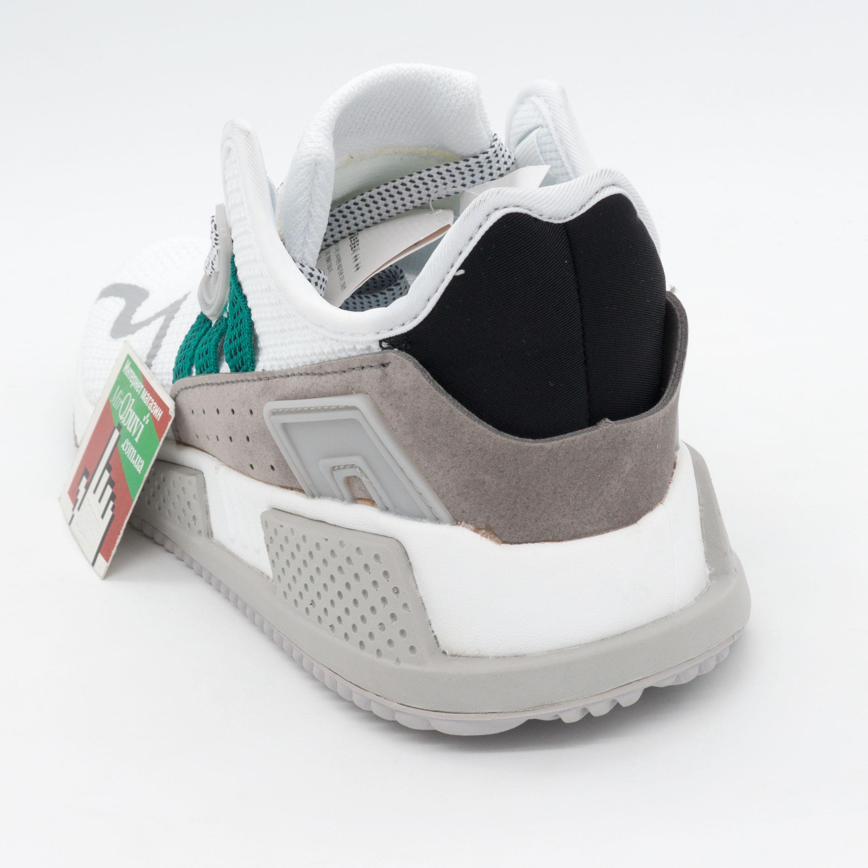 фото back Кроссовки Adidas EQT Cushion adv белые с зеленым. Топ качество! back