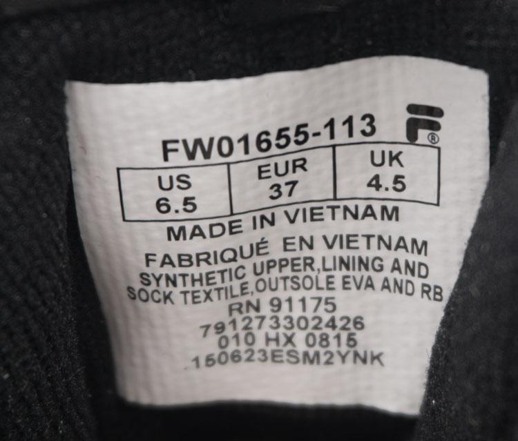 большое фото №6 Женские полностью черные кроссовки FILA Disruptor 2. Топ качество!