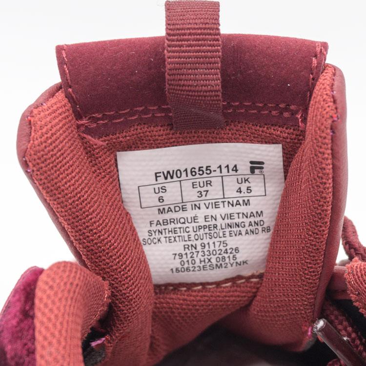 большое фото №6 Женские бордовые кроссовки FILA Disruptor 2. Топ качество!