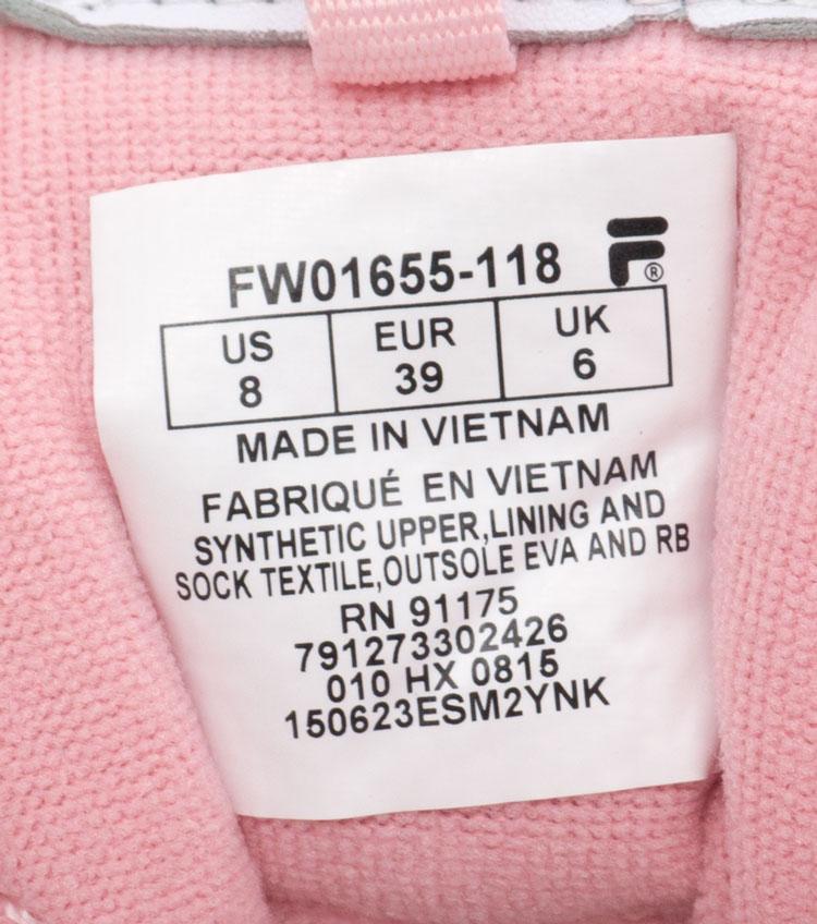 большое фото №6 Женские белые с розовым кроссовки FILA Disruptor 2. Топ качество!