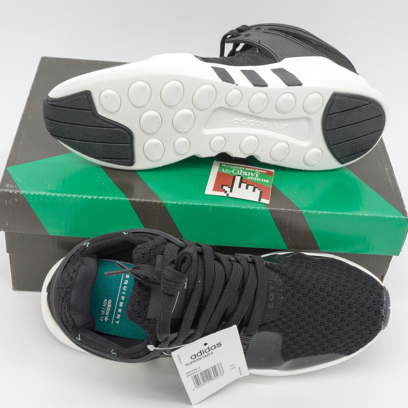 фото bottom Кроссовки Adidas Equipment Support (EQT) черно-белые. Топ качество! bottom