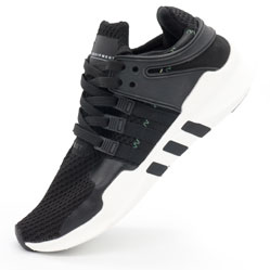 Кроссовки Adidas Equipment Support (EQT) черно-белые. Топ качество!