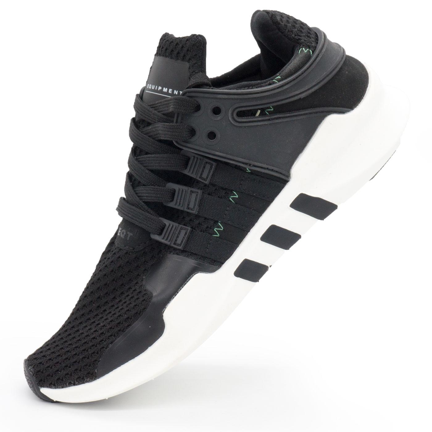 фото main Кроссовки Adidas Equipment Support (EQT) черно-белые. Топ качество! main