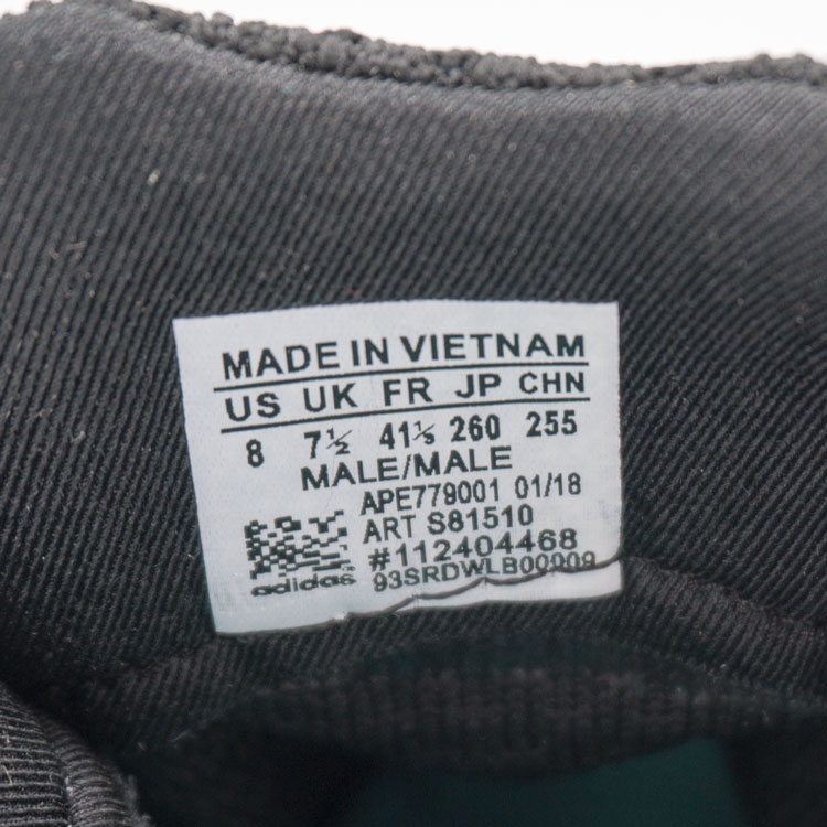 большое фото №6 Кроссовки Adidas Equipment Support (EQT) черно-белые. Топ качество!