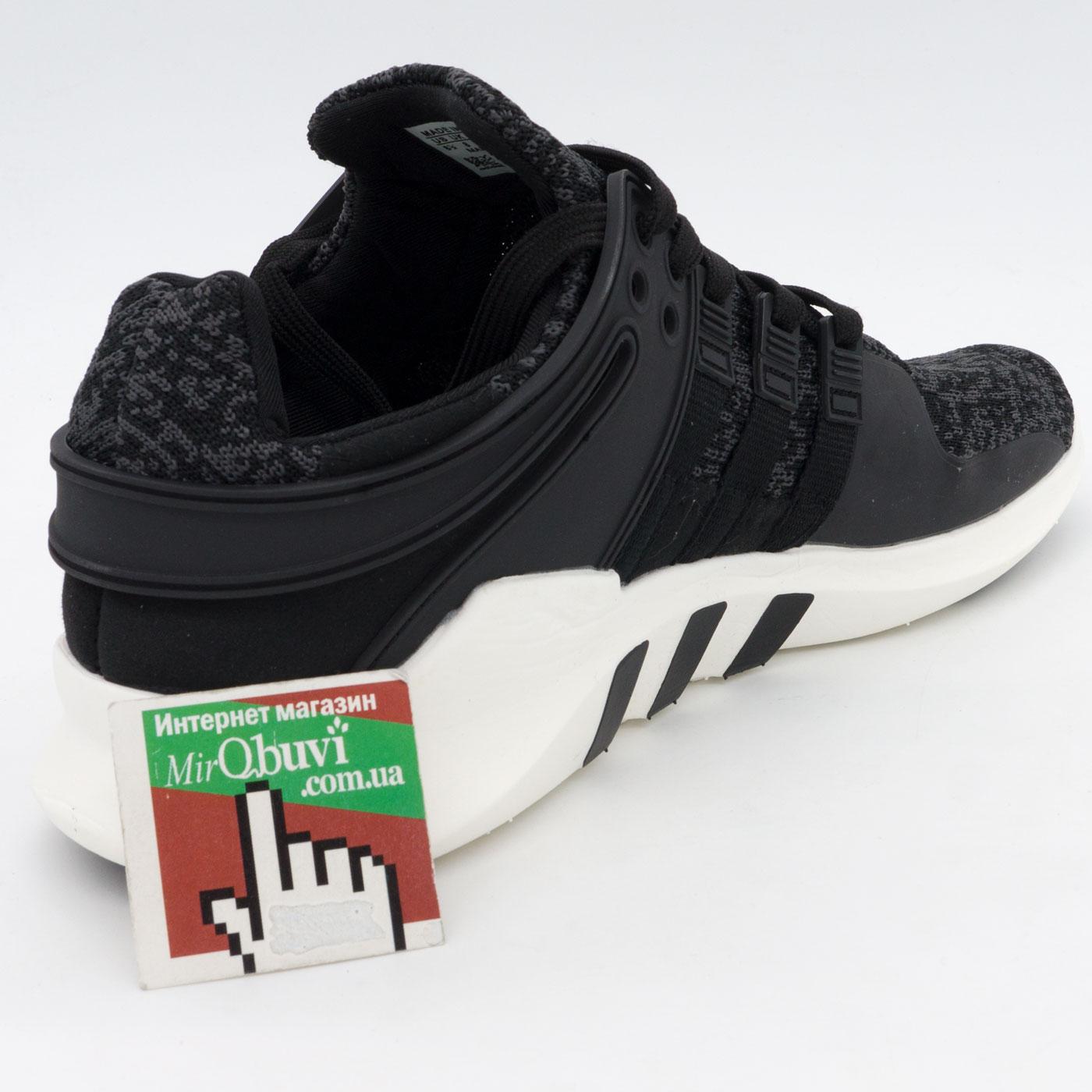 фото back Кроссовки Adidas Equipment Support (EQT) серо-белые. Топ качество! back